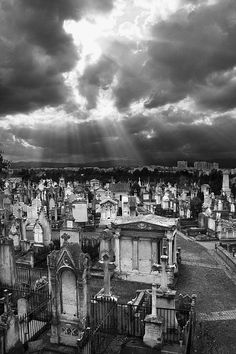 Loyasse Cemetery, Lyon, France
