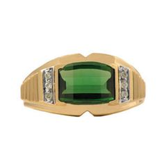 Barrel Cut Emerald and Diamond Ring For Men Gemologica.com offers a unique selection of mens gemstone and birthstone rings crafted in sterling silver and 10K, 14K and 18K yellow, white and rose gold. We have cool styles including wedding and engagement rings, fashion rings, designer rings, simple stone and promise rings. Our complete jewelry collection of gemstone rings for men can be seen here: www.gemologica.com/mens-gemstone-rings-c-28_46_64.html