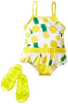 Wippette One Piece Swimsuit /& Jelly Sandals ~ Pick Your Size /& Color ~ NWT