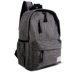 Hot Sale Good Linen Fabric 14inch bag backpack student school bag For Up to 12/13 Inch / Notebook / Tablet PC /