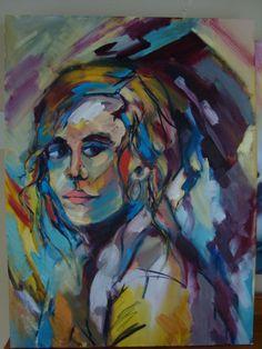Portrait Eira Sands - SOLD