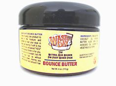 Awesome stuff! Only have to use it once a week to maintain curls and softness!  Bounce Butter by napfro on Etsy, $10.00