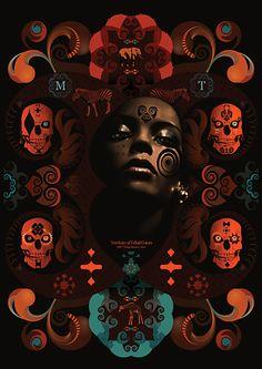 Adhemas Batista  Massive Territory  Gicleé Fine Art Print  A2 - 420mm x 594mm