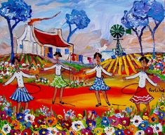 Artwork of Portchie exhibited at Robertson Art Gallery. Original art of more than 60 top South African Artists - Since African Art Paintings, Oil Paintings, South African Artists, Whimsical Art, Folk Art, Original Art, Art Gallery, Arts And Crafts, Place Mats