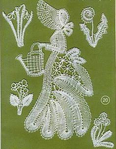 """Photo from album """"Вологодское +++"""" on Yandex. Irish Crochet, Crochet Lace, Bobbin Lace Patterns, Lacemaking, Lace Heart, Lace Jewelry, Needle Lace, Lace Detail, Tatting"""