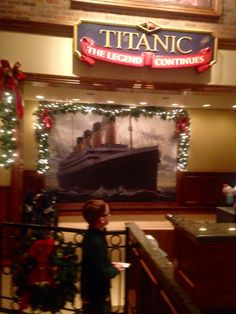 Titanic : The Legend Continues museum and exhibit. I've been to many museums throughout Chicago & FL and this was the BEST! Our 5 yr old loves ships & the Titanic and I'm so happy he got to experience this tour. Heartbreak Hotel, The Rest Of Us, Old Love, Titanic, Exhibit, Memphis, Museums, Tennessee, Chicago
