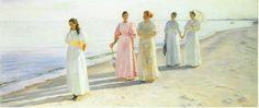 Passeggiata sulla spiaggia di Skagen Michael Ancher (1849 – 1927)