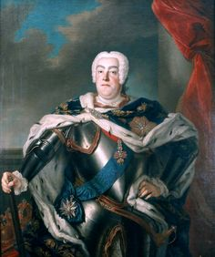 August III the Saxon - Augustus III (Polish: August III, (Lithuanian: Augustas III); 17 October 1696 – 5 October 1763) was King of Poland and Grand Duke of Lithuania from 1734 until 1763, as well as Elector of Saxony in the Holy Roman Empire from 1733 until 1763 as Frederick Augustus II (German: Friedrich August II). Augustus, the heir to Augustus II the Strong, had secured the Polish throne following a war of succession against partisans of Stanisław I Leszczyński.