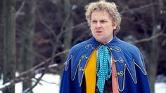 The Sixth Doctor as played by Colin Baker in Doctor Who