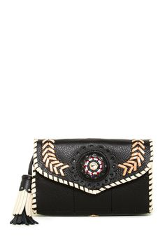 Sara's Leather Wallet by World Family Ibiza on @nordstrom_rack
