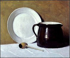 'Still Life with Pipe' ca. 1910 by N. C. Wyeth by Plum leaves, via Flickr