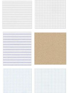 Freebie: Seamless Notebook Textures | Scrapbooking | CraftGossip.com