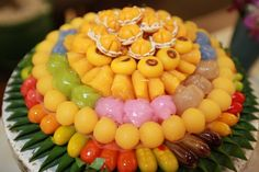 Thai dessert .