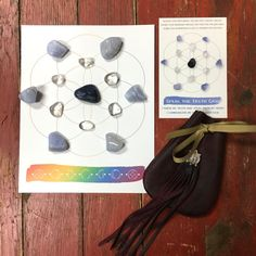 Speak the Truth Crystal Grid kit information by The7Directions