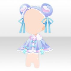 """JellyBears☆Labo was a Sugoroku Event available from to (Term 1 from to and Term 2 from to with """"Gummy Bears"""" and """"Science Laboratory"""" themed rewards. Chibi Base Couple, Jelly Bears, Anime Boy Hair, Digital Art Anime, Kawaii Goth, Bear Ears, Cocoppa Play, Anime Animals, Memento Mori"""