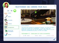 Mod The Sims: Education Career by OhMy • Sims 4 Downloads
