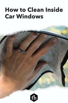 How to Clean Inside Car Windows Window Cleaning Solutions, Inside Car, Perfect Glass, Window Cleaner, Car Cleaning, Car Windows, Trucks, Cleaning Cars, Truck