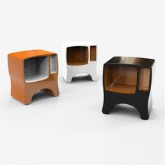 Design bedside in Adamantx® Catodico Made in Italy
