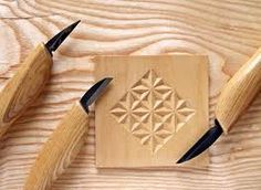 Relief carving...this is a fun pattern to do!