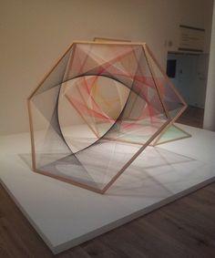 string art on Pinterest | 15 Images on string installation, thread ar…