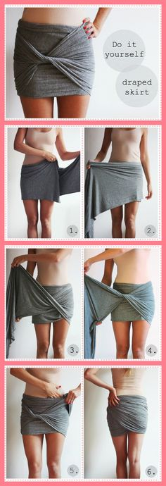 Style on a Budget: Upcycle Old Scarves into Spectacular Draped Skirts