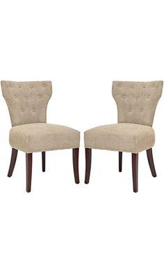 Safavieh Set Of 2 Broome Side Chairs, Sage Best Price