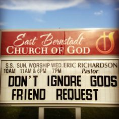 Don't Ignore God's Friend Request