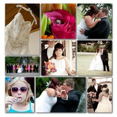 Storyboard of a #summerwedding in Illinois!