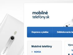 Mobile eshop by Erik Adler Web Design, Ios, Phone, Design Web, Telephone, Website Designs, Mobile Phones, Site Design