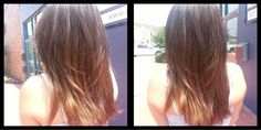 Lovely ombre by Loni at our Belknap location  #SalonPurple