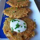 Foto de la receta: Tortitas de papa rallada