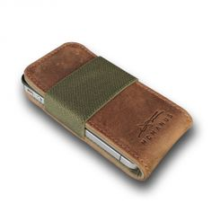 Canvas and Leather Smartphone Case