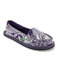Another great find on #zulily! Purple Shorty Wrapped Slip-On Shoe - Women by Sanuk #zulilyfinds