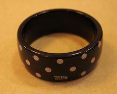 Pulseira com estampa Poá Triton por R$ 29,90.  #pulseiras #poá #triton #acessórios #angelinabrecho #brecho #boacompanhia #bomcafé