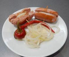 Nejlepší recept na Domácí utopence- Recepty pro každého - Videorecepty Caprese Salad, Sausage, Food And Drink, Meat, Sausages, Insalata Caprese, Chinese Sausage