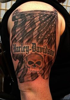 10 Of The Coolest Harley-Davidson Tattoos Ever Seen |