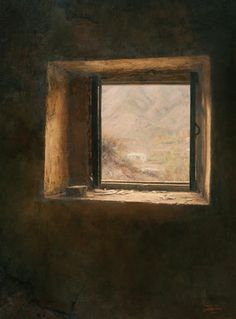 A Janela - Iman Maleki e suas pinturas realistas ~ Pintor iraniano
