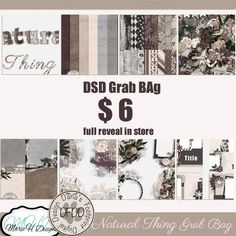 Natural Thing Grab Bag with Marie H Designs