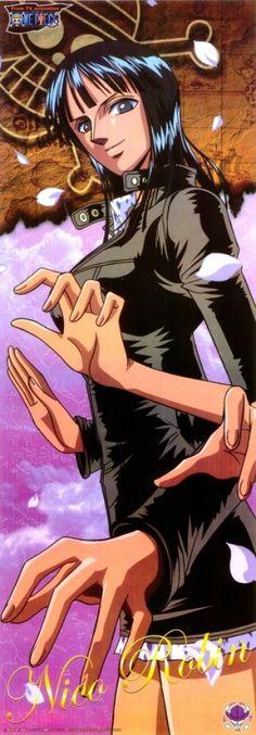 No Nico Robin, no One Piece.