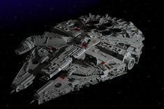 Reverse Engineering MB's Millennium Falcon | Well, here we a… | Flickr Mbs, Millennium Falcon, First Photo, Lego, Engineering, Pictures, War, Photos, Technology
