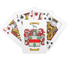#name - #Bradley (English) Playing Cards