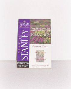 "The In Touch Study Series ""Experiencing Forgiveness"" In Touch Study Paperback Book Dr. Charles Stanley Christian Study by SheCollectsICreate on Etsy"