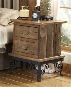 Furniture Rustic Teak Wood Bedroom Log Cabin