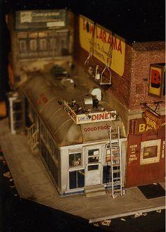 Alan Wolfson - Miniature Urban Sculptures