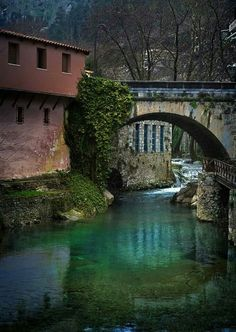 """""""Greece ~~ Livadia (prefecture of Viotia) ~~ """" source: greecephotos. Places Around The World, Around The Worlds, Myconos, Places In Greece, Greek Isles, Paradise On Earth, Greece Travel, Beautiful Islands, Crete"""