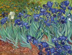 Vincent van Gogh - Irises [1889]