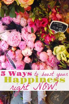 Ways to be a happier person, increase your overall happiness, small things that bring joy, being happy