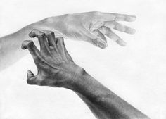 1. 손의 구조를 파악, 선의 강약조절에 주의하며 화면 구성 후 스케치 2. 눕혀서 명암설정. 손의 고유색을 입힌 후 어둠의 명암을 더 강조 손의 뼈대나 근육의 긴장을 표현하되 너무 딱딱하게 표현되지 않도록 주의 앞의 손과 뒤의 손의 원근을 의식하면서 톤 안배 3. 세운선과 짧은선으로 섬세한 부분까지 묘사+착색 앞의 손과 뒤의 손의 원근 연출 (뒤의 손은 검은색이 들지 않도록 조심) 4. 마무리 대구, 화실, 소묘, 드.. Video Photography, Animal Photography, Drawing Tips, Life Drawing, Talk To The Hand, Landscape Concept, Fantasy Drawings, Flower Doodles, Book Images