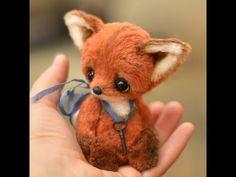 Best Teddy Bear, Cute Teddy Bears, Fox Toys, Teddy Toys, Stuffed Animal Patterns, Diy Stuffed Animals, Baby Animals, Cute Animals, Felt Fox
