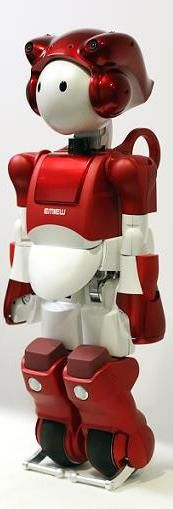Hitachi's service robot, EMIEW2, is meant to safely coexist with humans while conducting necessary services. And is obviously adorable.